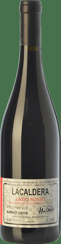 19,95 € Free Shipping | Red wine Andrea Occhipinti Lacaldera I.G.T. Lazio Lazio Italy Grenache Tintorera Bottle 75 cl