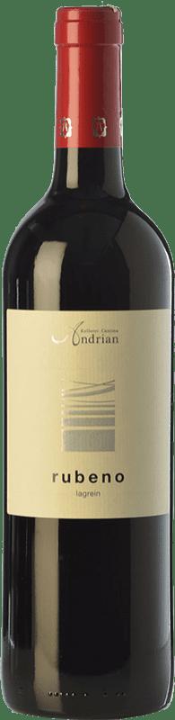 17,95 € Free Shipping | Red wine Andriano Rubeno D.O.C. Alto Adige Trentino-Alto Adige Italy Lagrein Bottle 75 cl