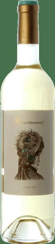 8,95 € Free Shipping | White wine Uvas Felices Fenomenal D.O. Rueda Castilla y León Spain Viura, Verdejo Magnum Bottle 1,5 L