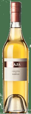 44,95 € Free Shipping | Grappa Gaja Barolo I.G.T. Grappa Piemontese Piemonte Italy Half Bottle 50 cl