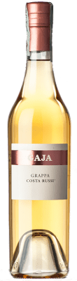 37,95 € Free Shipping | Grappa Gaja Costa Russi I.G.T. Grappa Piemontese Piemonte Italy Half Bottle 50 cl