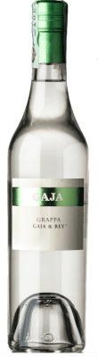45,95 € Free Shipping | Grappa Gaja Gaja & Rey I.G.T. Grappa Piemontese Piemonte Italy Half Bottle 50 cl