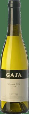89,95 € Free Shipping | White wine Gaja Gaia & Rey D.O.C. Langhe Piemonte Italy Chardonnay Half Bottle 37 cl