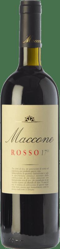 28,95 € 免费送货 | 红酒 Angiuli Rosso 17° Maccone I.G.T. Puglia 普利亚大区 意大利 Primitivo 瓶子 75 cl