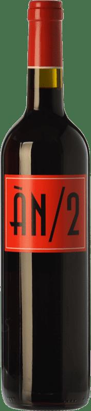 19,95 € | Red wine Ànima Negra ÀN/2 Crianza I.G.P. Vi de la Terra de Mallorca Balearic Islands Spain Cabernet Sauvignon, Callet, Fogoneu Bottle 75 cl