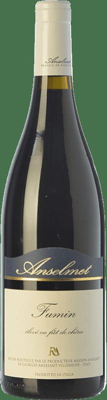 32,95 € Free Shipping | Red wine Anselmet D.O.C. Valle d'Aosta Valle d'Aosta Italy Fumin Bottle 75 cl