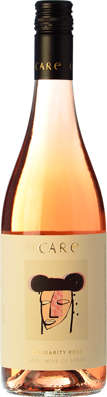 7,95 € Free Shipping | Rosé wine Añadas Care D.O. Cariñena Aragon Spain Tempranillo, Cabernet Sauvignon Bottle 75 cl