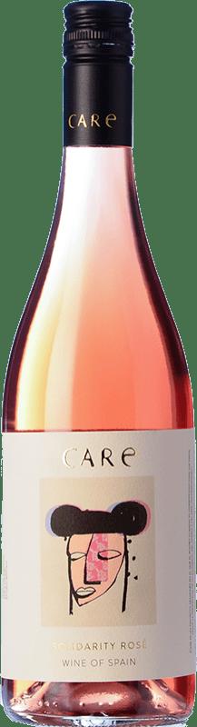 7,95 € Envío gratis | Vino rosado Añadas Care D.O. Cariñena Aragón España Tempranillo, Cabernet Sauvignon Botella 75 cl