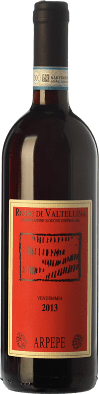 27,95 € Free Shipping | Red wine Ar.Pe.Pe. D.O.C. Valtellina Rosso Lombardia Italy Nebbiolo Bottle 75 cl