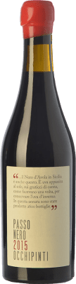 53,95 € Free Shipping | Sweet wine Arianna Occhipinti Passo Nero I.G.T. Terre Siciliane Sicily Italy Nero d'Avola Half Bottle 50 cl
