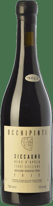 39,95 € Free Shipping | Red wine Arianna Occhipinti Siccagno I.G.T. Terre Siciliane Sicily Italy Nero d'Avola Bottle 75 cl