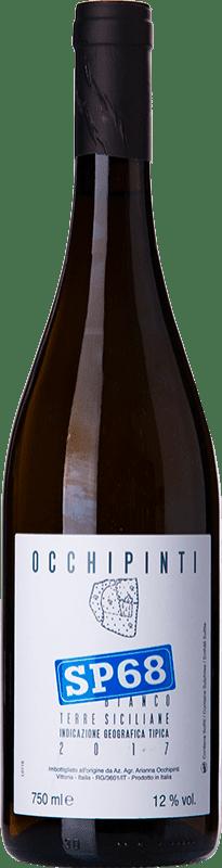 19,95 € Free Shipping | White wine Arianna Occhipinti SP68 Bianco I.G.T. Terre Siciliane Sicily Italy Muscat of Alexandria, Albanello Bottle 75 cl