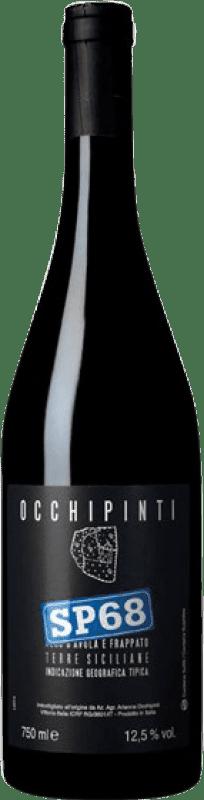 19,95 € Free Shipping | Red wine Arianna Occhipinti SP68 Rosso I.G.T. Terre Siciliane Sicily Italy Nero d'Avola, Frappato Bottle 75 cl