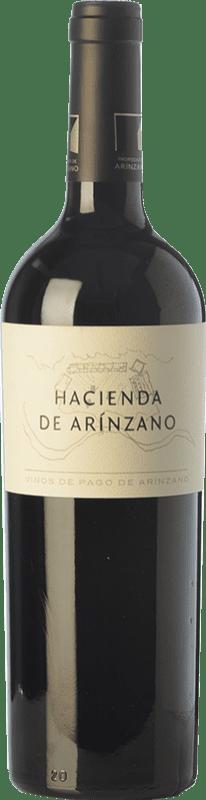 15,95 € | Red wine Arínzano Hacienda Crianza D.O.P. Vino de Pago de Arínzano Navarre Spain Tempranillo, Merlot, Cabernet Sauvignon Bottle 75 cl