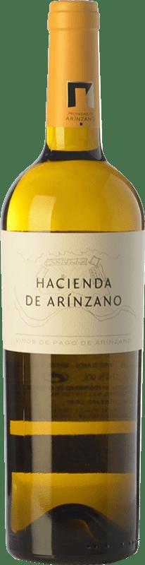 14,95 € | White wine Arínzano Hacienda Crianza D.O.P. Vino de Pago de Arínzano Navarre Spain Chardonnay Bottle 75 cl