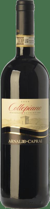 32,95 € Free Shipping | Red wine Caprai Collepiano D.O.C.G. Sagrantino di Montefalco Umbria Italy Sagrantino Bottle 75 cl