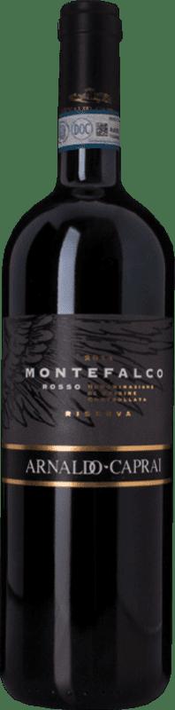 28,95 € Free Shipping | Red wine Caprai Rosso Riserva Reserva D.O.C. Montefalco Umbria Italy Merlot, Sangiovese, Sagrantino Bottle 75 cl