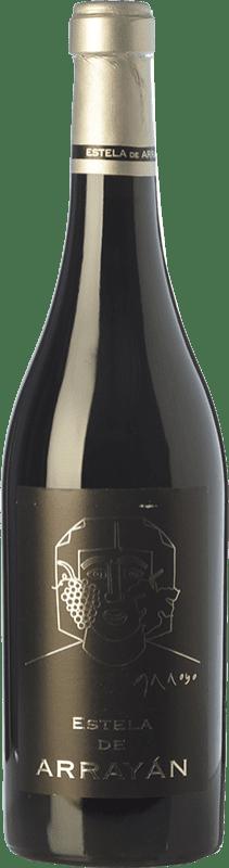 41,95 € Free Shipping | Red wine Arrayán Estela Crianza D.O. Méntrida Castilla la Mancha Spain Merlot, Syrah, Cabernet Sauvignon, Petit Verdot Bottle 75 cl