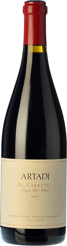 189,95 € | Red wine Artadi El Carretil Crianza Spain Tempranillo Bottle 75 cl