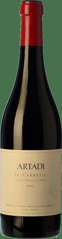 189,95 € Envoi gratuit | Vin rouge Artadi El Carretil Crianza Espagne Tempranillo Bouteille 75 cl