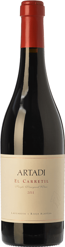 361,95 € | Red wine Artadi El Carretil Crianza D.O.Ca. Rioja The Rioja Spain Tempranillo Magnum Bottle 1,5 L