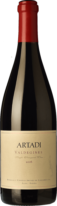33,95 € | Red wine Artadi Valdeginés Crianza Spain Tempranillo Bottle 75 cl