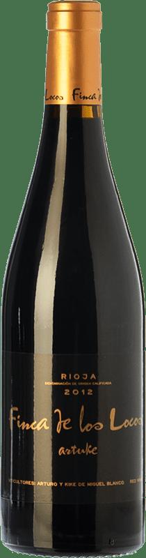 22,95 € Envío gratis | Vino tinto Artuke Finca Los Locos Crianza D.O.Ca. Rioja La Rioja España Tempranillo, Graciano Botella 75 cl