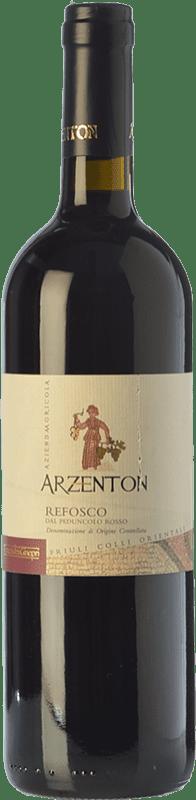 9,95 € Free Shipping | Red wine Arzenton D.O.C. Colli Orientali del Friuli Friuli-Venezia Giulia Italy Refosco Bottle 75 cl