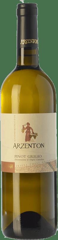 11,95 € Free Shipping | White wine Arzenton D.O.C. Colli Orientali del Friuli Friuli-Venezia Giulia Italy Pinot Grey Bottle 75 cl