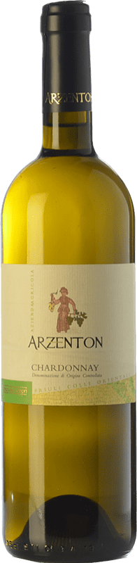 8,95 € Free Shipping | White wine Arzenton D.O.C. Colli Orientali del Friuli Friuli-Venezia Giulia Italy Chardonnay Bottle 75 cl
