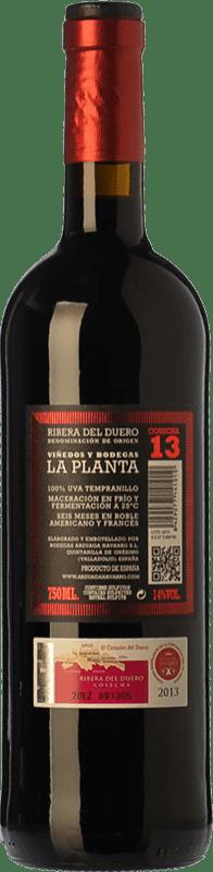 18,95 € Free Shipping | Red wine Arzuaga La Planta Joven D.O. Ribera del Duero Castilla y León Spain Tempranillo Magnum Bottle 1,5 L