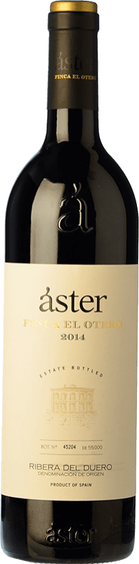 29,95 € Free Shipping | Red wine Áster Finca El Otero Crianza D.O. Ribera del Duero Castilla y León Spain Tempranillo Bottle 75 cl