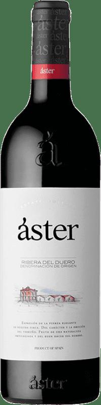 14,95 € Envío gratis | Vino tinto Áster Crianza D.O. Ribera del Duero Castilla y León España Tempranillo Botella 75 cl
