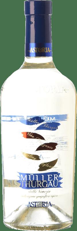 18,95 € Envío gratis | Espumoso blanco Astoria Frizzante I.G.T. Friuli-Venezia Giulia Friuli-Venezia Giulia Italia Müller-Thurgau Botella 75 cl