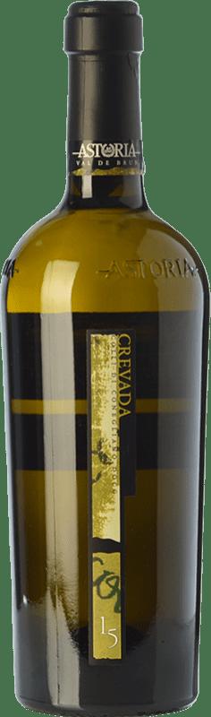 26,95 € Envío gratis | Vino blanco Astoria Crevada D.O.C. Colli di Conegliano Veneto Italia Chardonnay, Sauvignon, Incroccio Manzoni Botella 75 cl