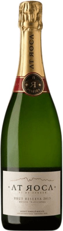 15,95 € Free Shipping | White sparkling AT Roca Brut Reserva D.O. Penedès Catalonia Spain Macabeo, Xarel·lo, Parellada Bottle 75 cl