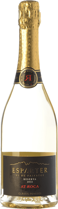 28,95 € Free Shipping | White sparkling AT Roca Vinya Esparter D.O. Penedès Catalonia Spain Macabeo Bottle 75 cl