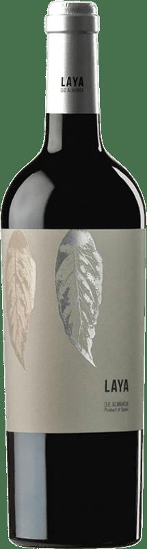 5,95 € 免费送货 | 红酒 Atalaya Laya Joven D.O. Almansa 卡斯蒂利亚 - 拉曼恰 西班牙 Monastrell, Grenache Tintorera 瓶子 75 cl