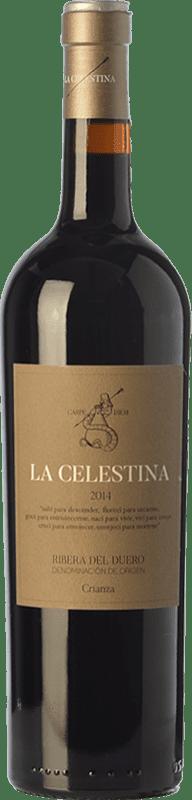 9,95 € | Red wine Atalayas de Golbán La Celestina Crianza D.O. Ribera del Duero Castilla y León Spain Tempranillo Bottle 75 cl