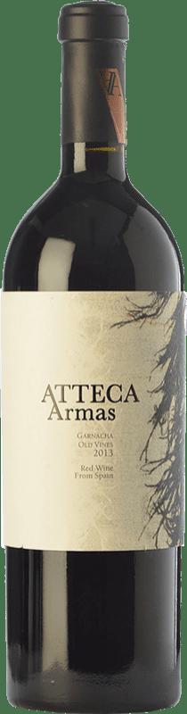 39,95 € | Red wine Ateca Atteca Armas Crianza D.O. Calatayud Aragon Spain Grenache Bottle 75 cl