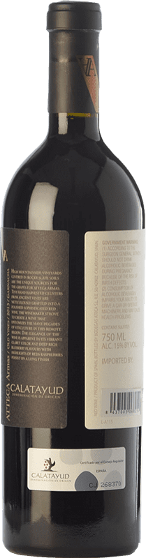 39,95 € Free Shipping | Red wine Ateca Atteca Armas Crianza D.O. Calatayud Aragon Spain Grenache Bottle 75 cl
