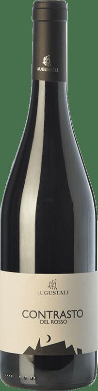 15,95 € | Red wine Augustali Contrasto del Rosso I.G.T. Terre Siciliane Sicily Italy Nero d'Avola Bottle 75 cl