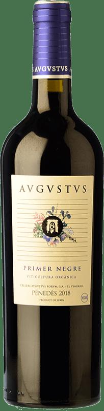 19,95 € Envío gratis | Vino tinto Augustus Merlot-Syrah Joven D.O. Penedès Cataluña España Merlot, Syrah Botella 75 cl