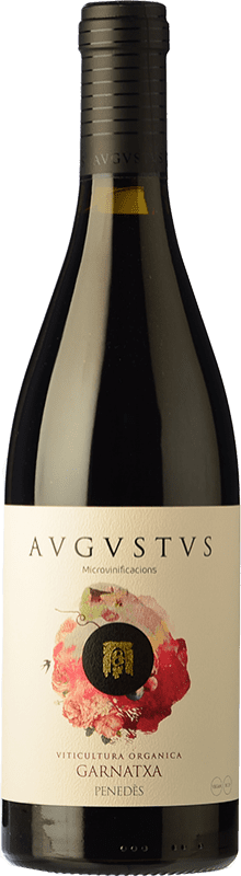 16,95 € Free Shipping | Red wine Augustus Microvinificacions Joven D.O. Penedès Catalonia Spain Grenache Bottle 75 cl