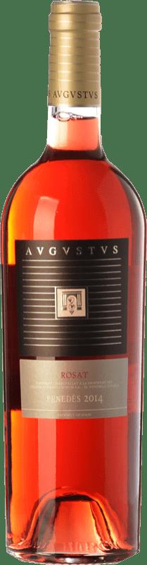 9,95 € Free Shipping | Rosé wine Augustus Rosé D.O. Penedès Catalonia Spain Cabernet Sauvignon Bottle 75 cl