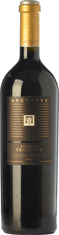 25,95 € Free Shipping | Red wine Augustus Trajanus Crianza D.O. Penedès Catalonia Spain Merlot, Cabernet Sauvignon, Cabernet Franc Bottle 75 cl