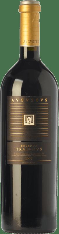 25,95 € Envío gratis | Vino tinto Augustus Trajanus Crianza D.O. Penedès Cataluña España Merlot, Cabernet Sauvignon, Cabernet Franc Botella 75 cl