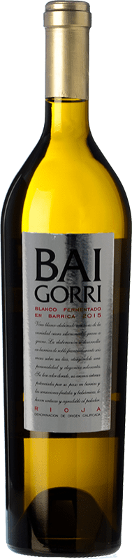 16,95 € Free Shipping | White wine Baigorri Fermentado en Barrica Crianza D.O.Ca. Rioja The Rioja Spain Viura Bottle 75 cl
