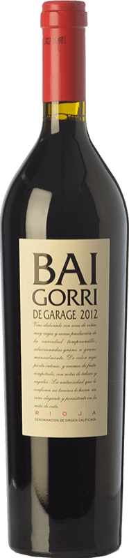 45,95 € Free Shipping | Red wine Baigorri Garage Crianza D.O.Ca. Rioja The Rioja Spain Tempranillo Bottle 75 cl