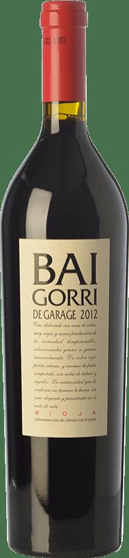 45,95 € Envío gratis | Vino tinto Baigorri Garage Crianza D.O.Ca. Rioja La Rioja España Tempranillo Botella 75 cl